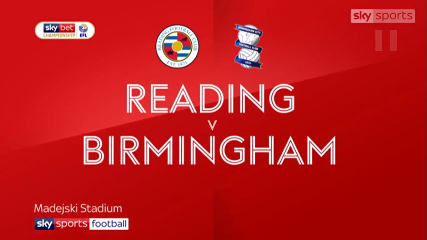 05-05-2019 - Reading 0-0 Birmingham City (CHAMPIONSHIP)