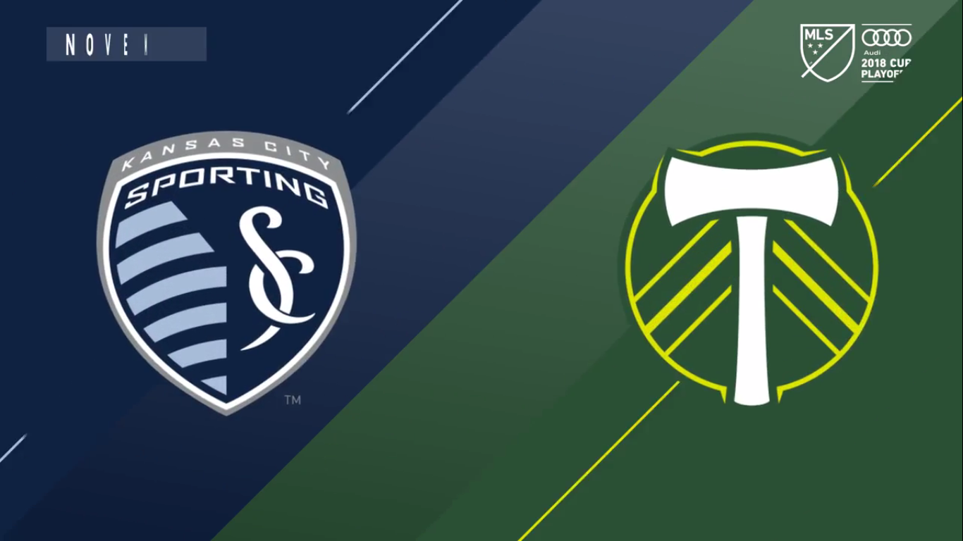 30-11-2018 - Sporting Kansas City 2-3 Portland Timbers
