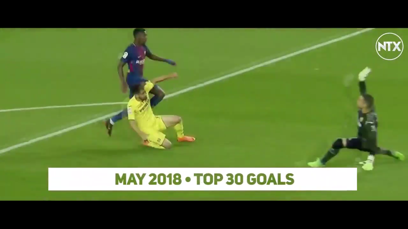 Top 30 Goals of May 2018