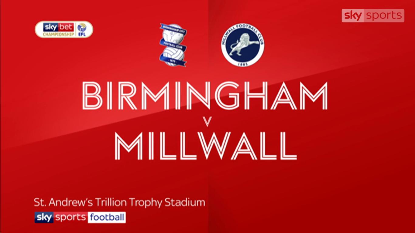 13-03-2019 - Birmingham City 0-2 Millwall (CHAMPIONSHIP)
