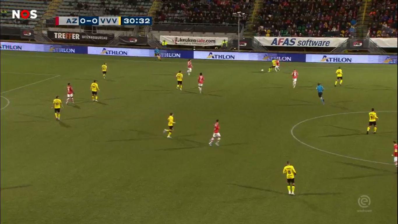 01-12-2019 - AZ Alkmaar 1-0 VVV-Venlo