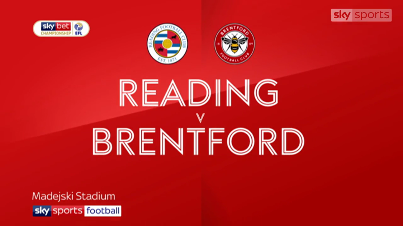 13-04-2019 - Reading 2-1 Brentford (CHAMPIONSHIP)