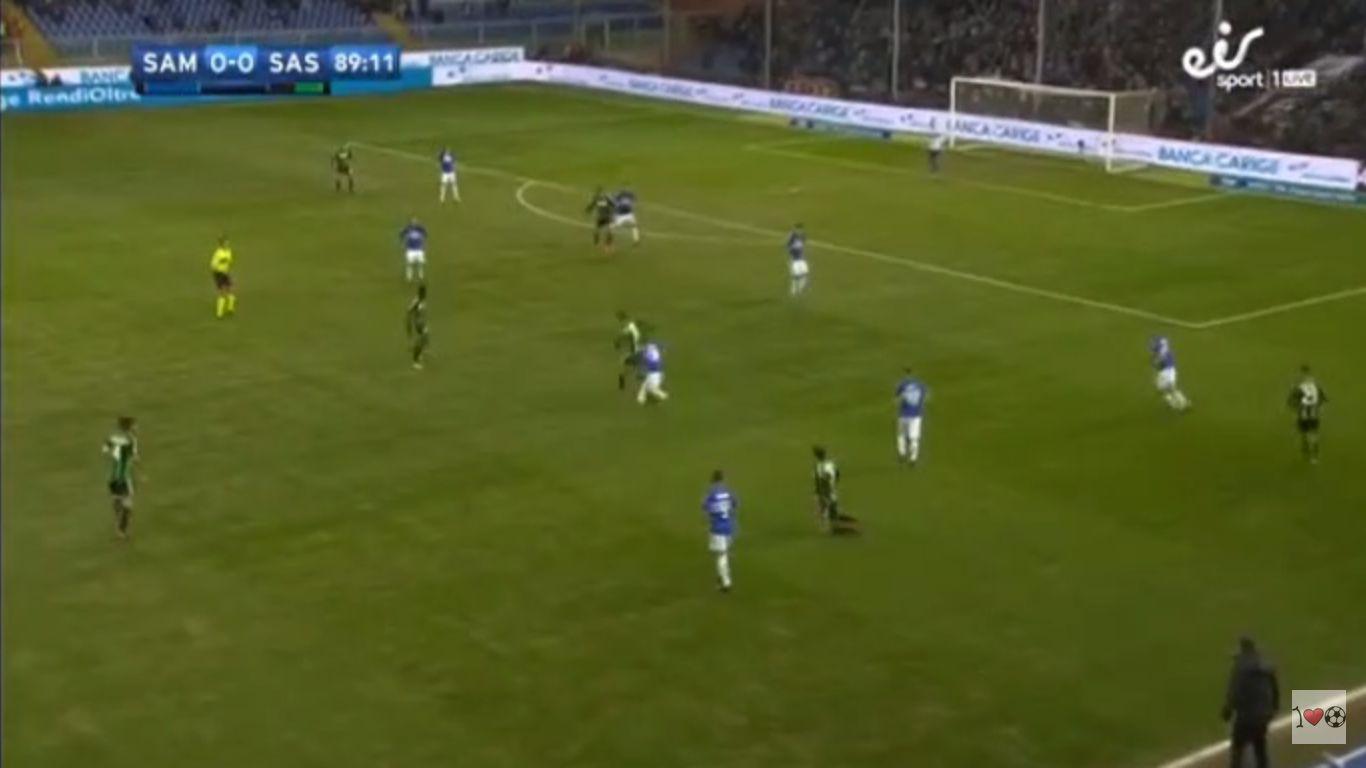 Sampdoria 0-1 Sassuolo