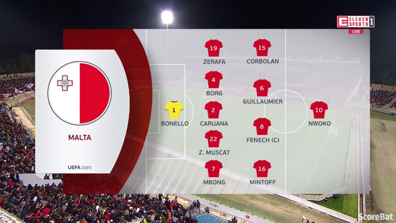 26-03-2019 - Malta 0-2 Spain (EURO QUALIF.)