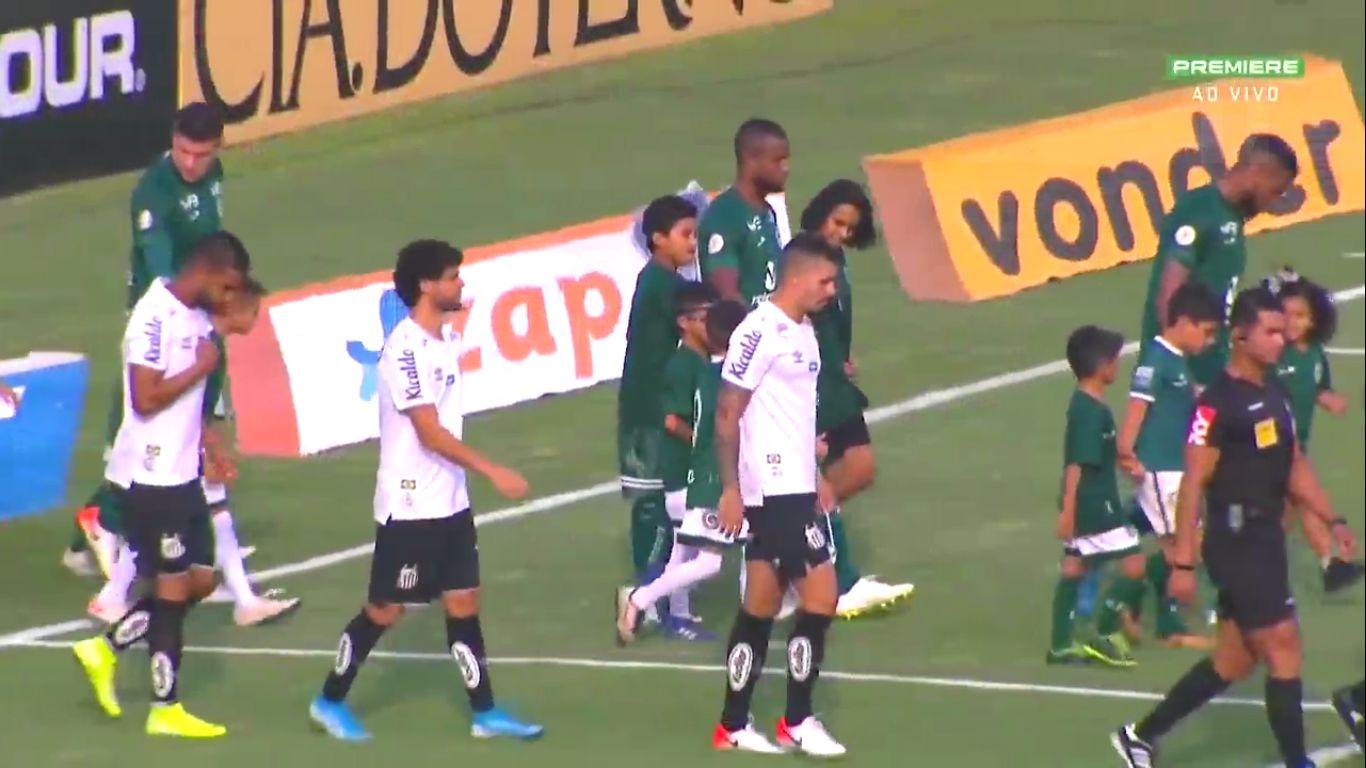 10-11-2019 - Goias 0-3 Santos FC SP
