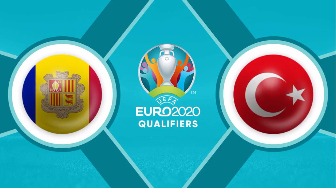 17-11-2019 - Andorra 0-2 Turkey (EURO QUALIF.)