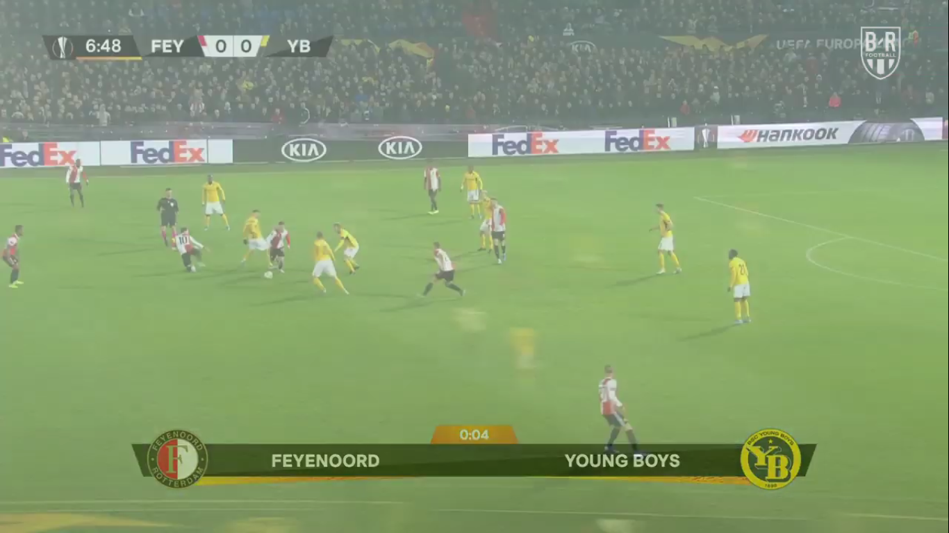 07-11-2019 - Feyenoord 1-1 Young Boys (EUROPA LEAGUE)