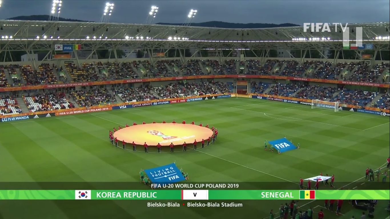 08-06-2019 - South Korea U20 3-3 (3-2 PEN.) Senegal U20 (WORLD CUP U20)