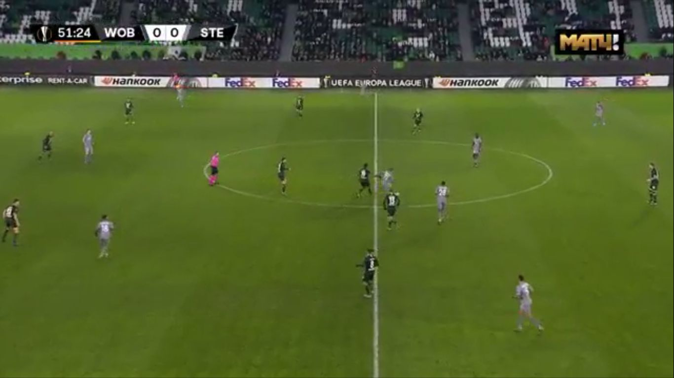 12-12-2019 - Wolfsburg 1-0 Saint-Etienne (EUROPA LEAGUE)