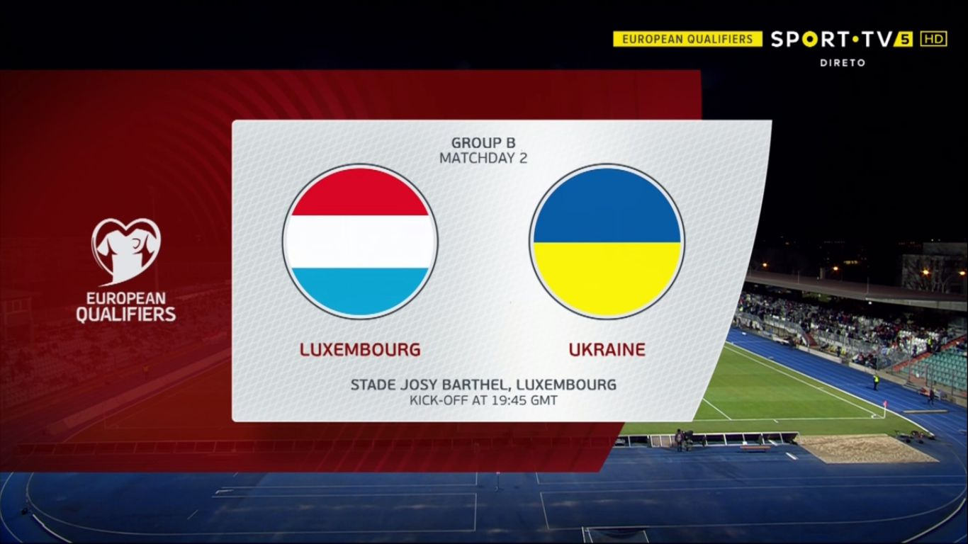 25-03-2019 - Luxembourg 1-2 Ukraine (EURO QUALIF.)