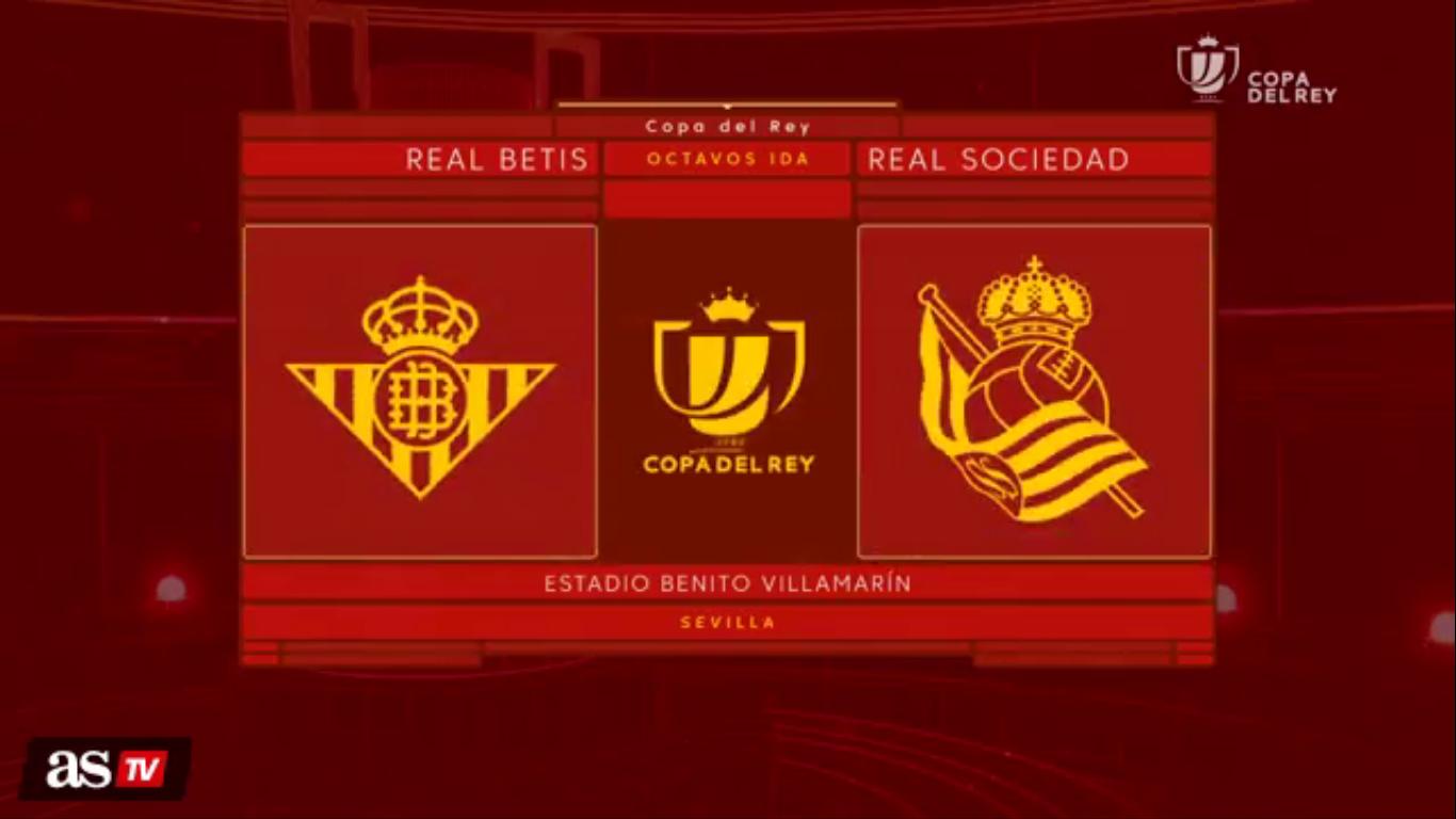 10-01-2019 - Real Betis 0-0 Real Sociedad (COPA DEL REY)