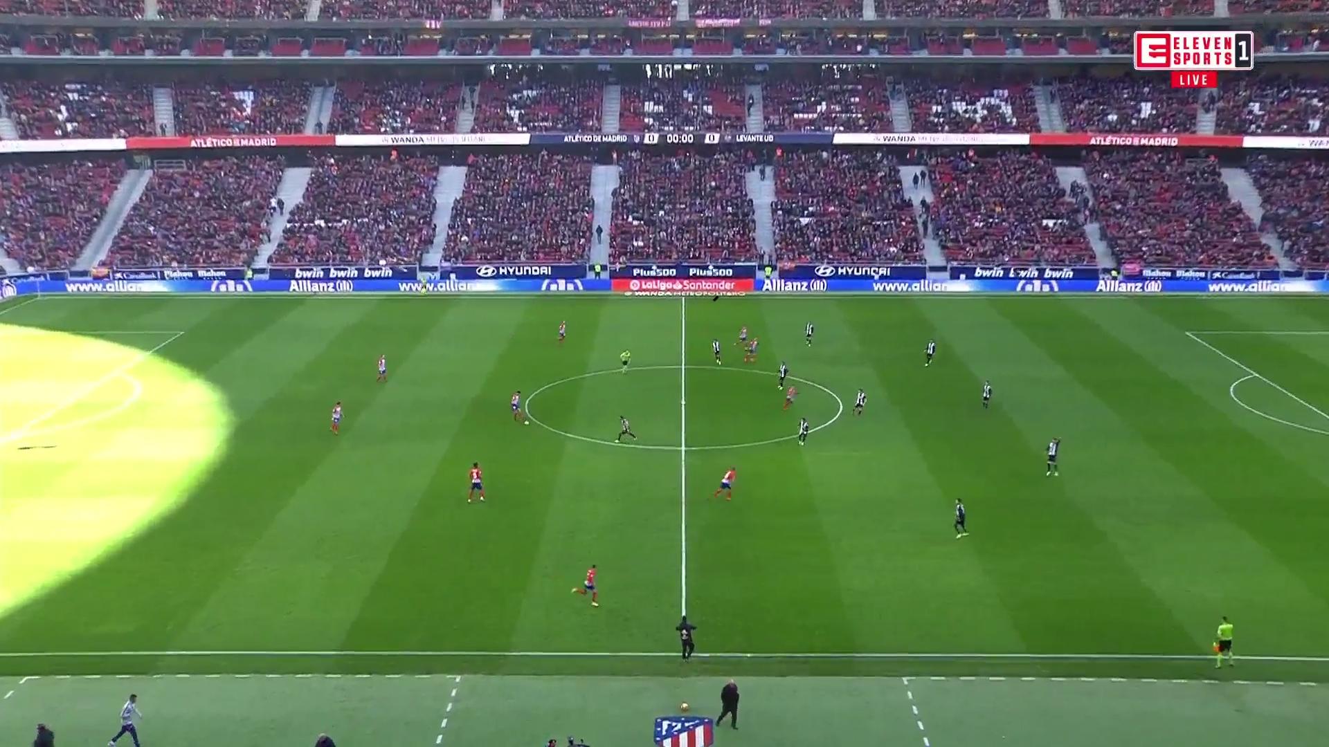 13-01-2019 - Atletico Madrid 1-0 Levante