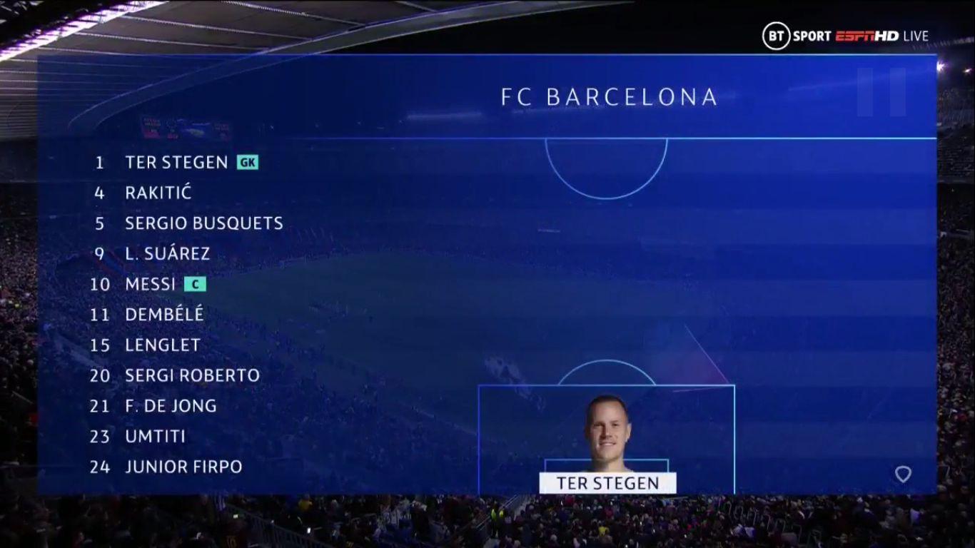 27-11-2019 - Barcelona 3-1 Borussia Dortmund (CHAMPIONS LEAGUE)
