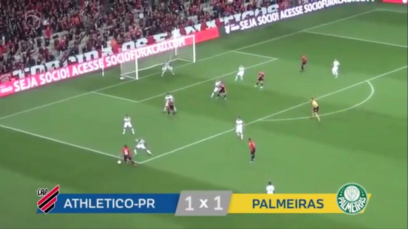 21-10-2019 - CA Paranaense PR 1-1 Palmeiras