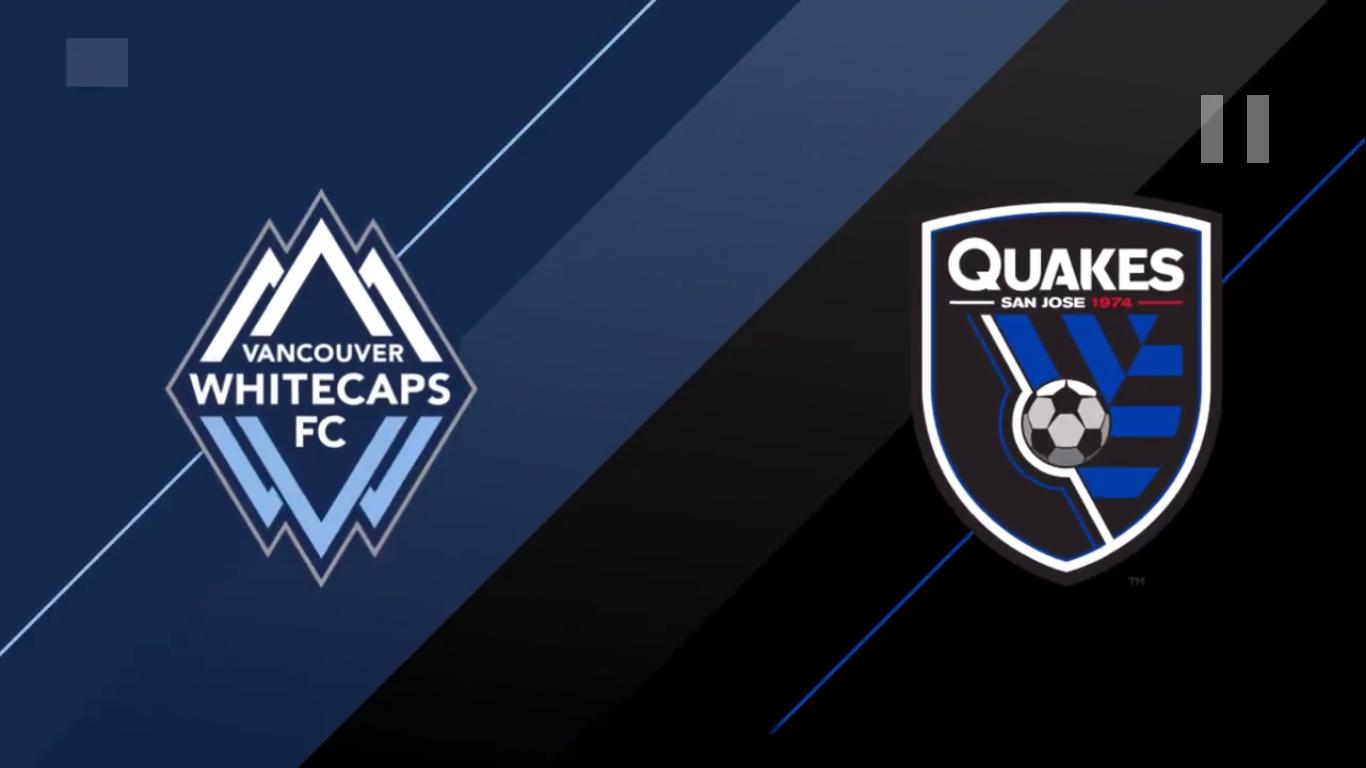 21-07-2019 - Vancouver Whitecaps FC 1-3 San Jose Earthquakes