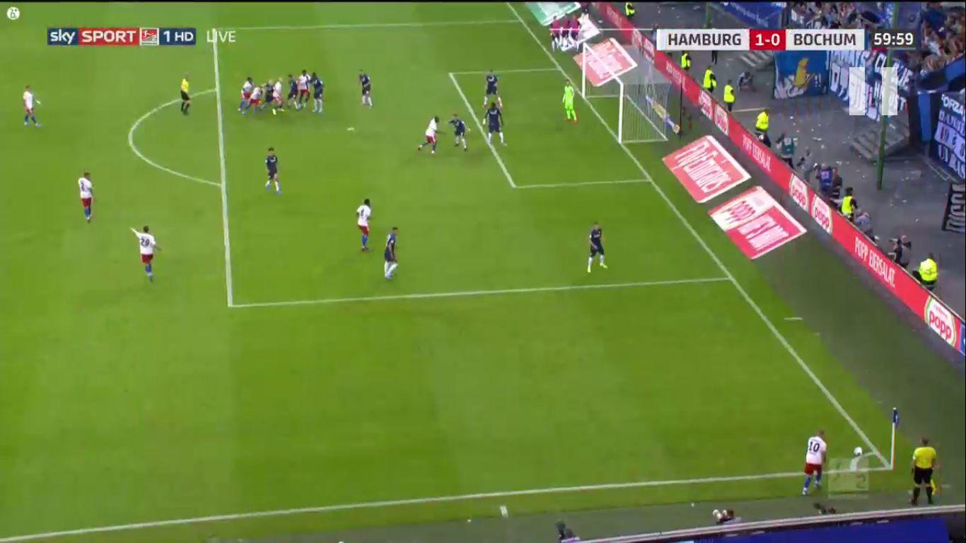 16-08-2019 - Hamburger SV 1-0 VfL Bochum 1848 (2. BUNDESLIGA)