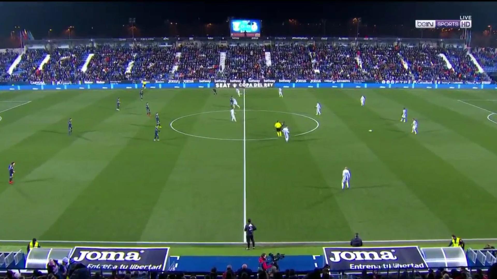 16-01-2019 - Leganes 1-0 Real Madrid (COPA DEL REY)
