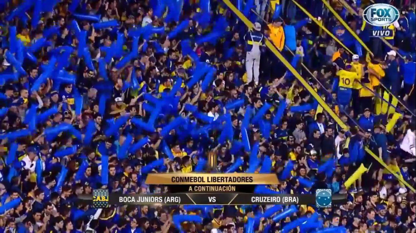 20-09-2018 - Boca Juniors 2-0 Cruzeiro (COPA LIBERTADORES)
