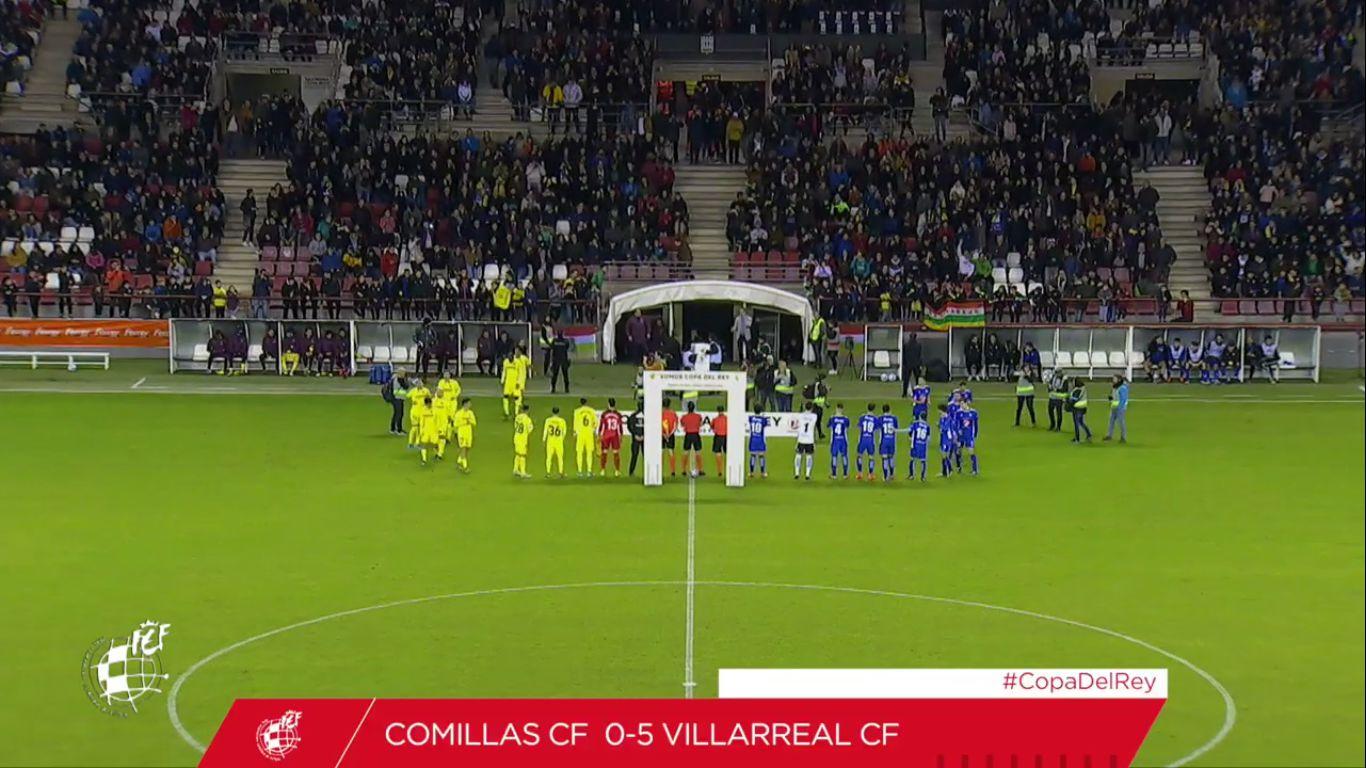 18-12-2019 - Comillas CF 0-5 Villarreal (COPA DEL REY)