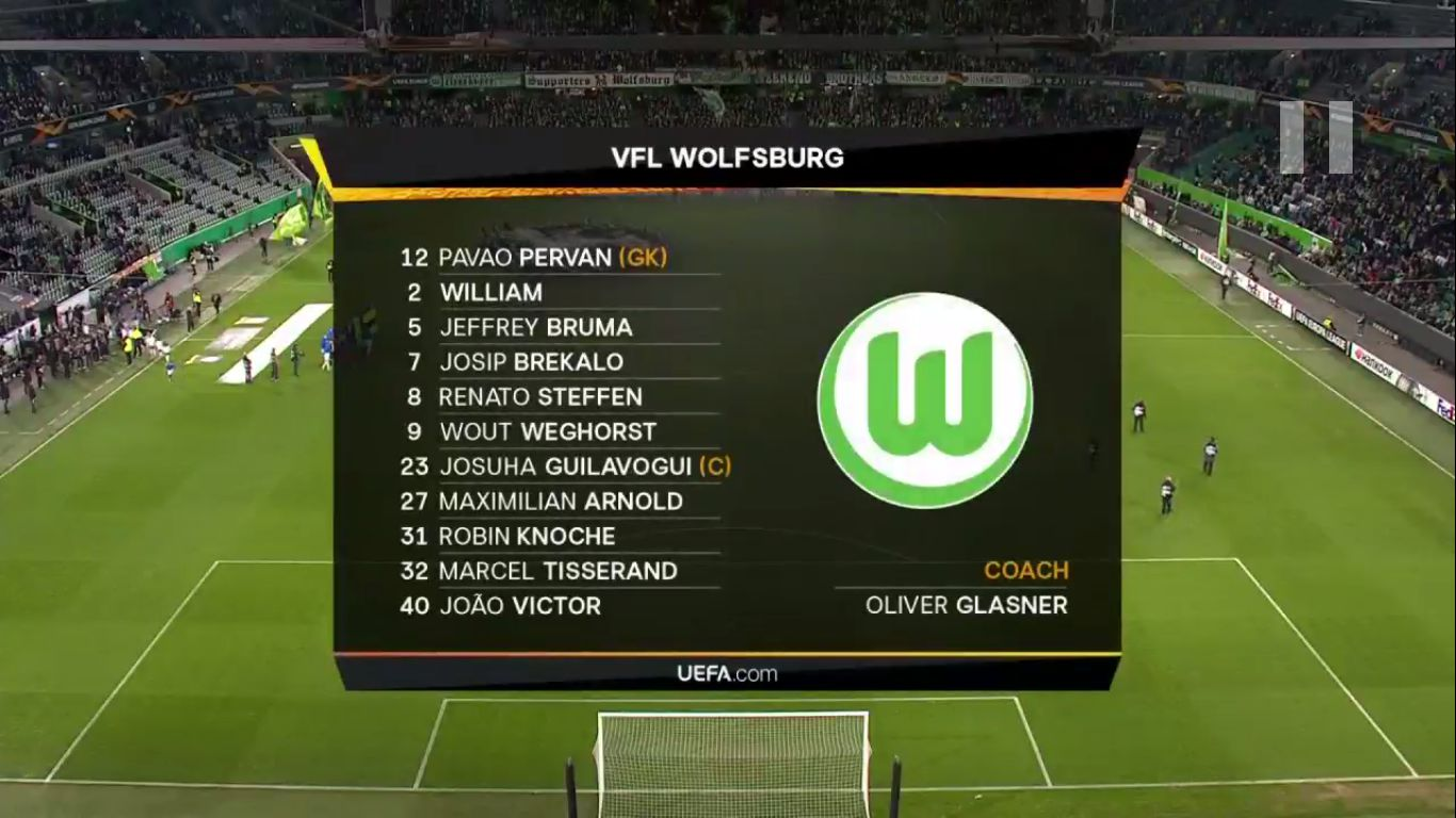 07-11-2019 - Wolfsburg 1-3 Gent (EUROPA LEAGUE)