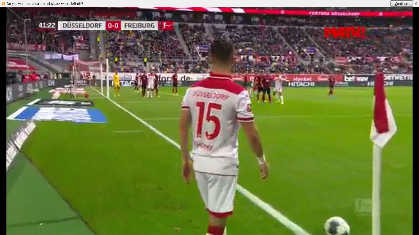 29-09-2019 - Fortuna Dusseldorf 1-2 Freiburg