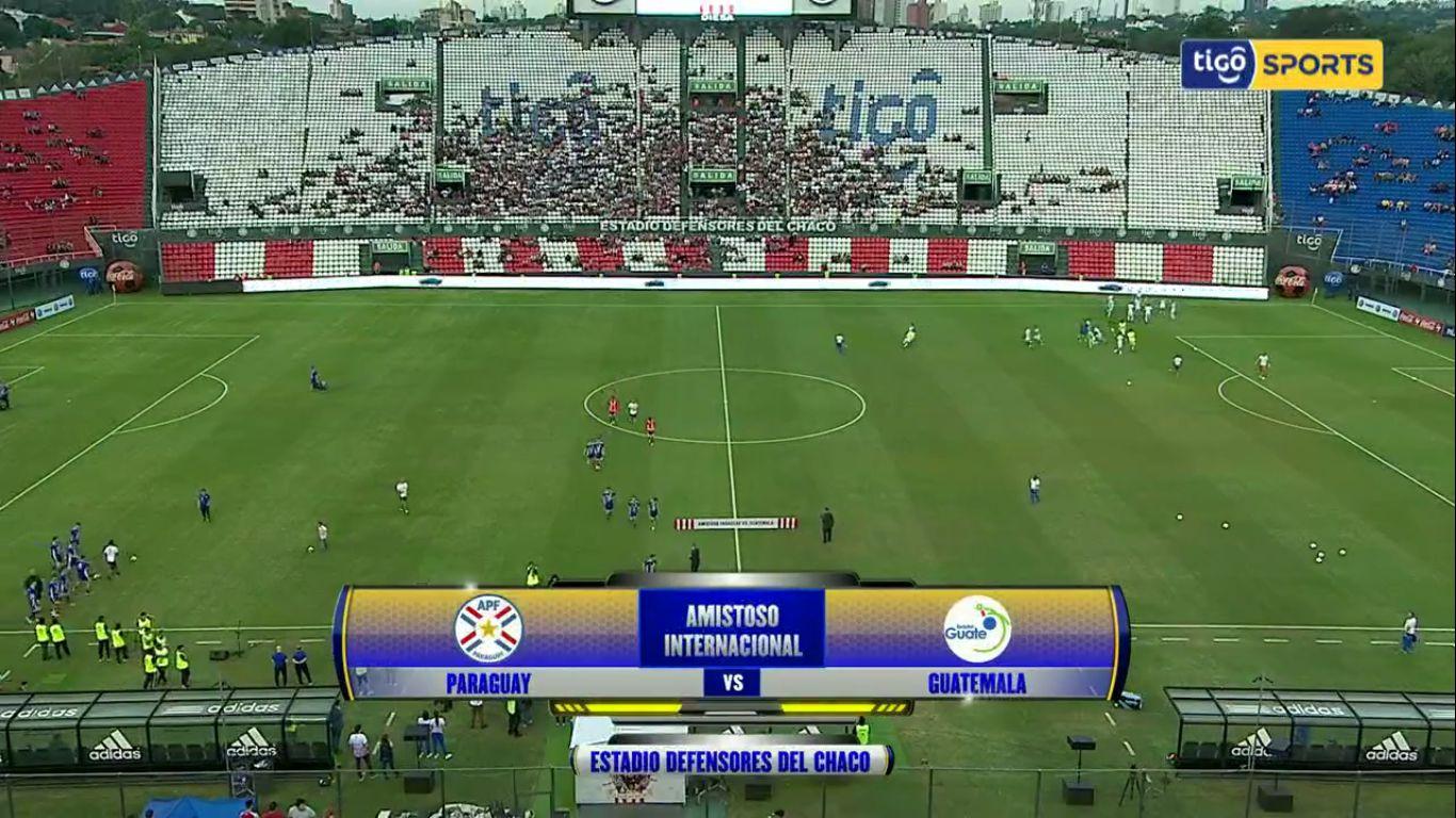 10-06-2019 - Paraguay 2-0 Guatemala (FRIENDLY)