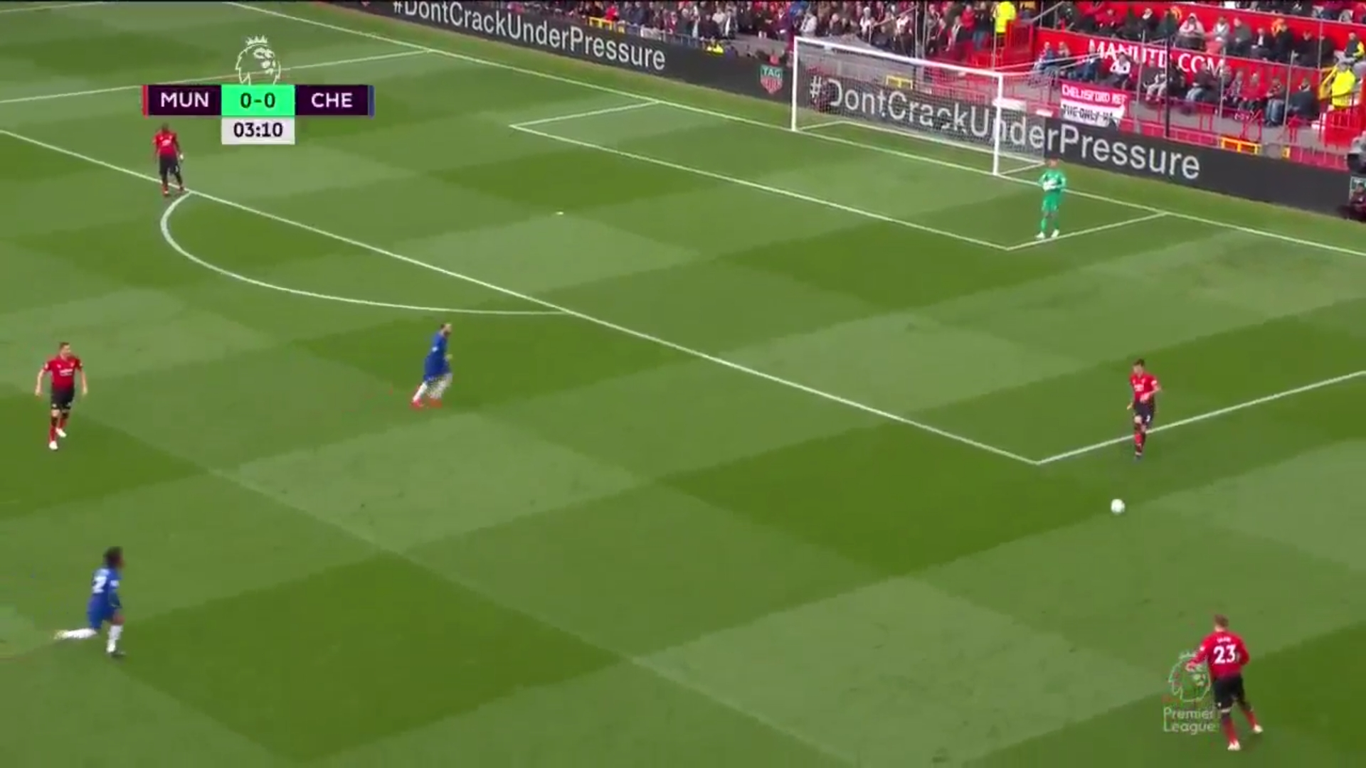 28-04-2019 - Manchester United 1-1 Chelsea