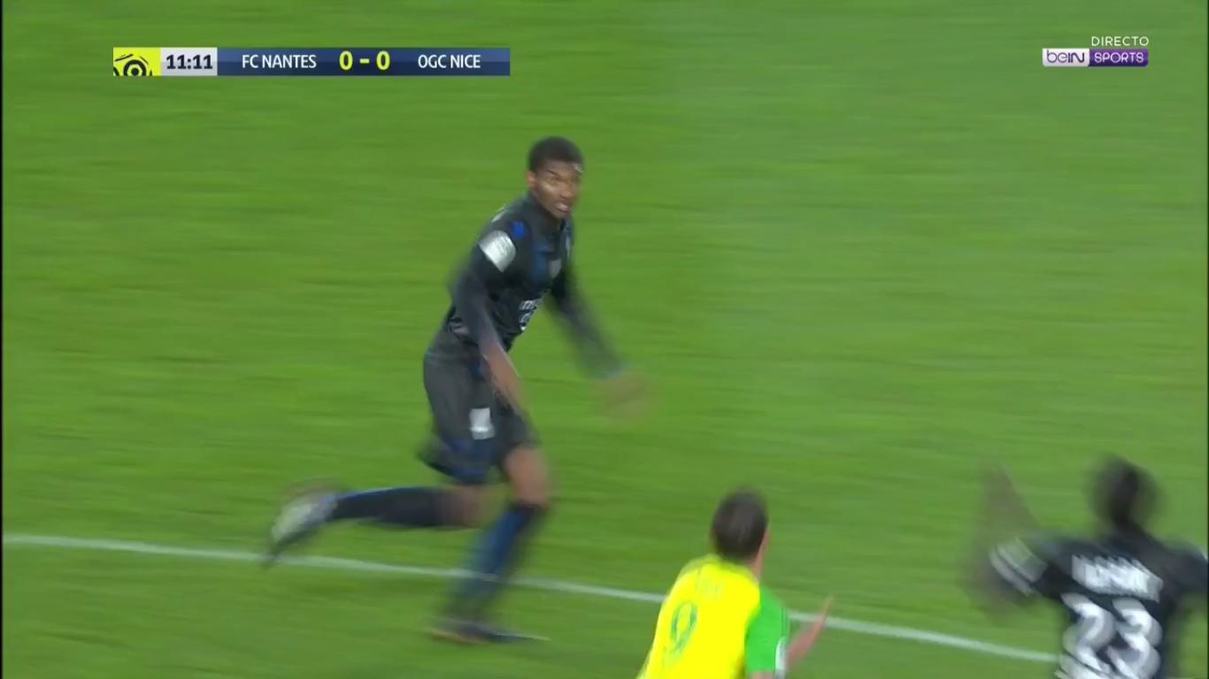 Nantes 1-2 Nice