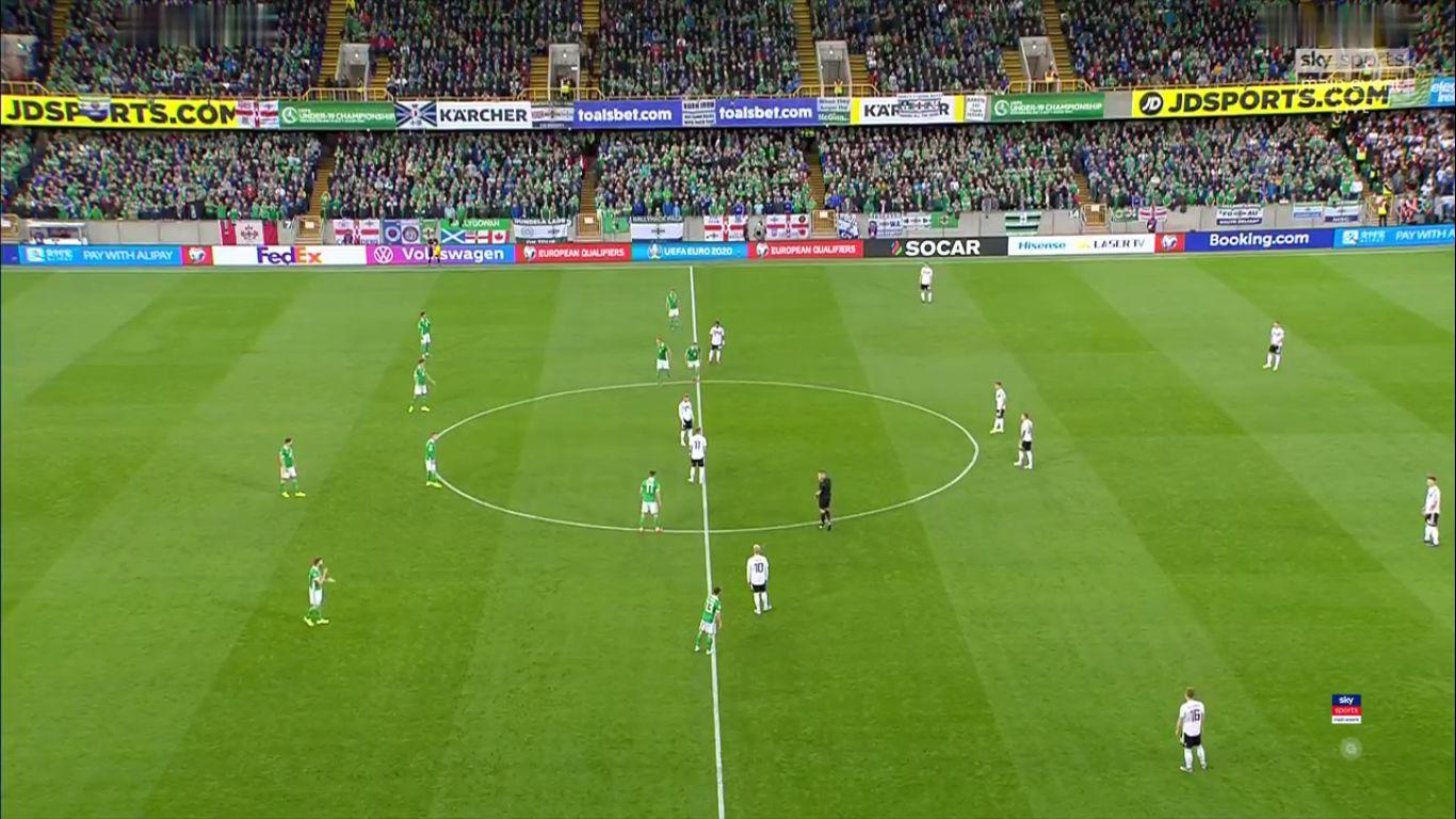 09-09-2019 - N.Ireland 0-2 Germany (EURO QUALIF.)