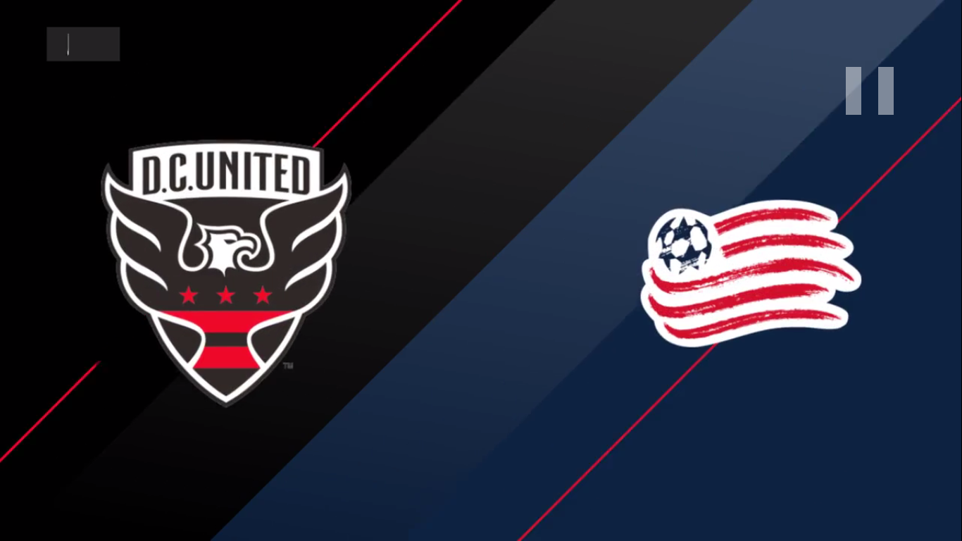 13-07-2019 - DC United 2-2 New England Revolution