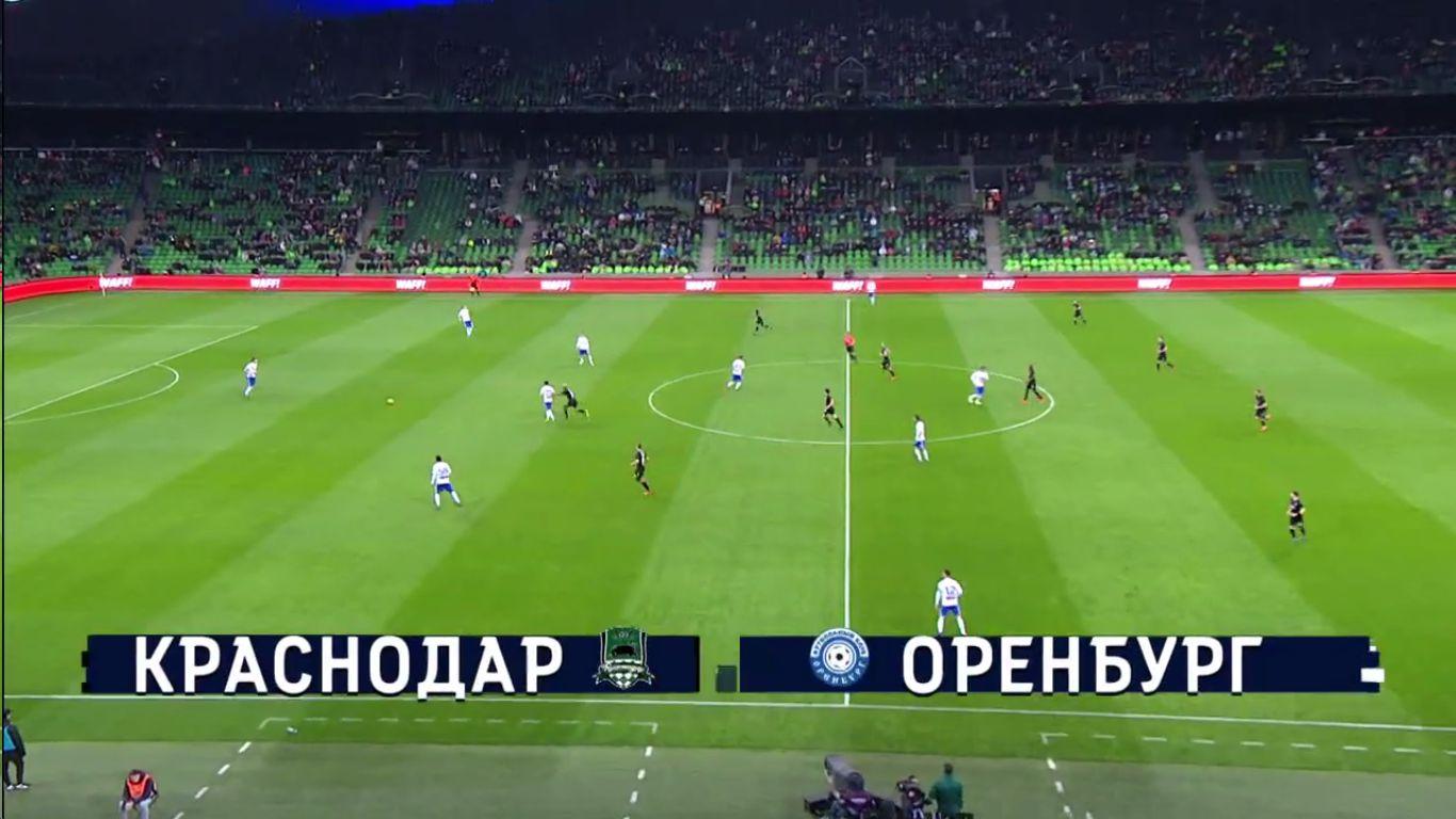 11-03-2019 - FC Krasnodar 2-2 FC Orenburg