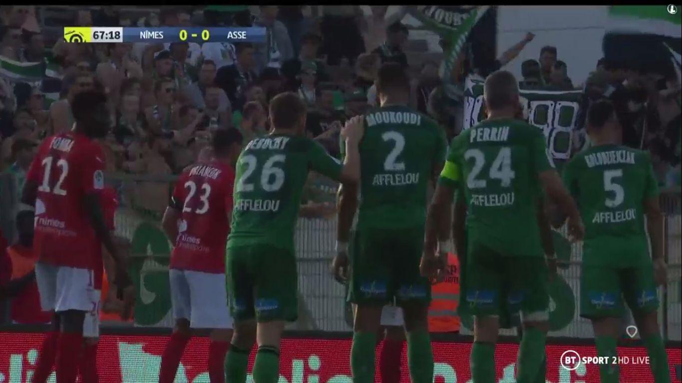 29-09-2019 - Nimes 0-1 Saint-Etienne