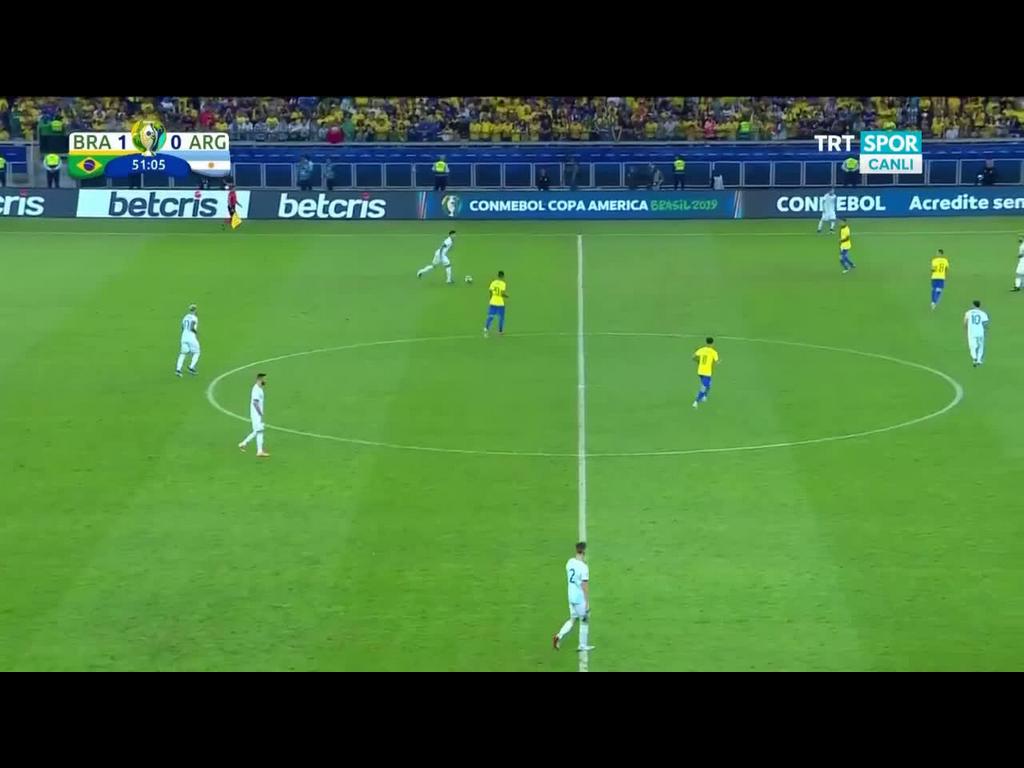 03-07-2019 - Brazil 2-0 Argentina (COPA AMERICA)