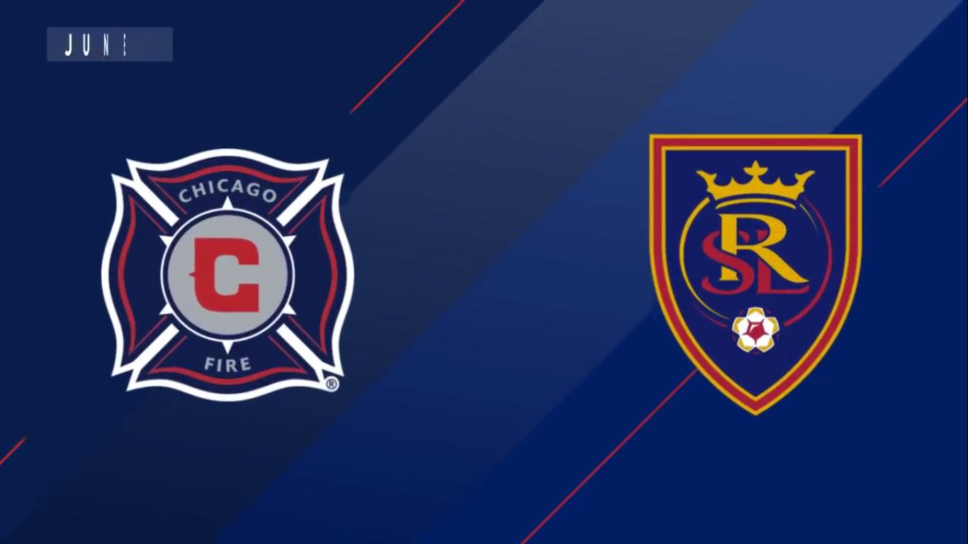 23-06-2019 - Chicago Fire 1-1 Real Salt Lake