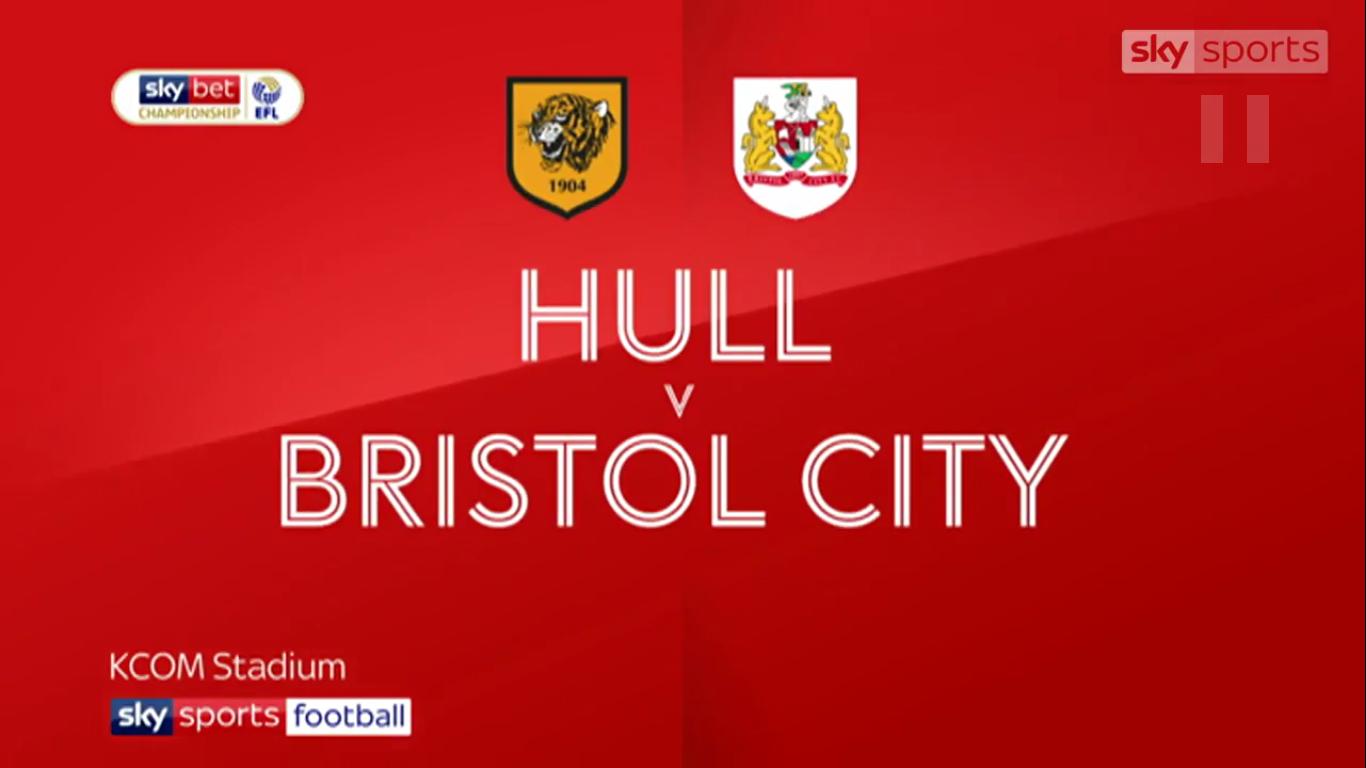 05-05-2019 - Hull City 1-1 Bristol City (CHAMPIONSHIP)