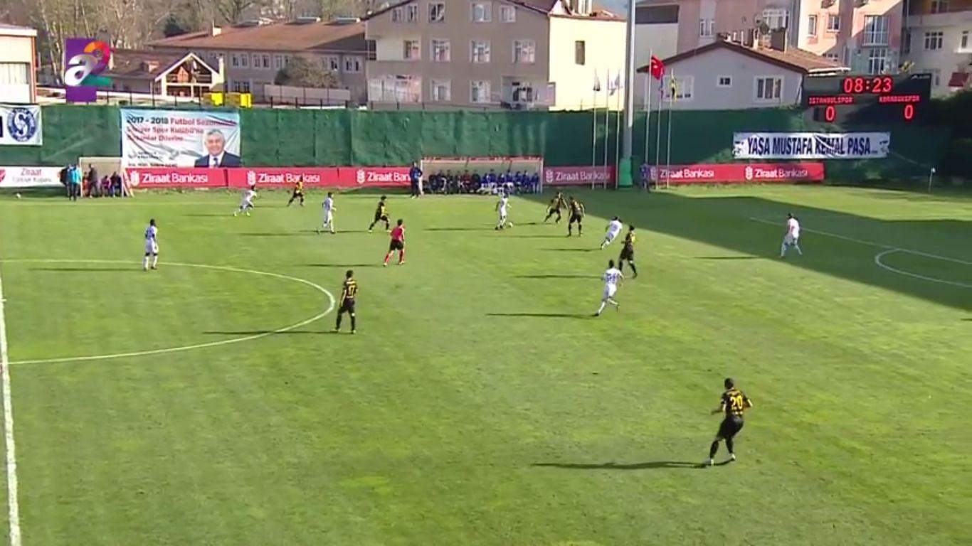 Istanbulspor 1-0 Karabukspor (ZIRAAT CUP)