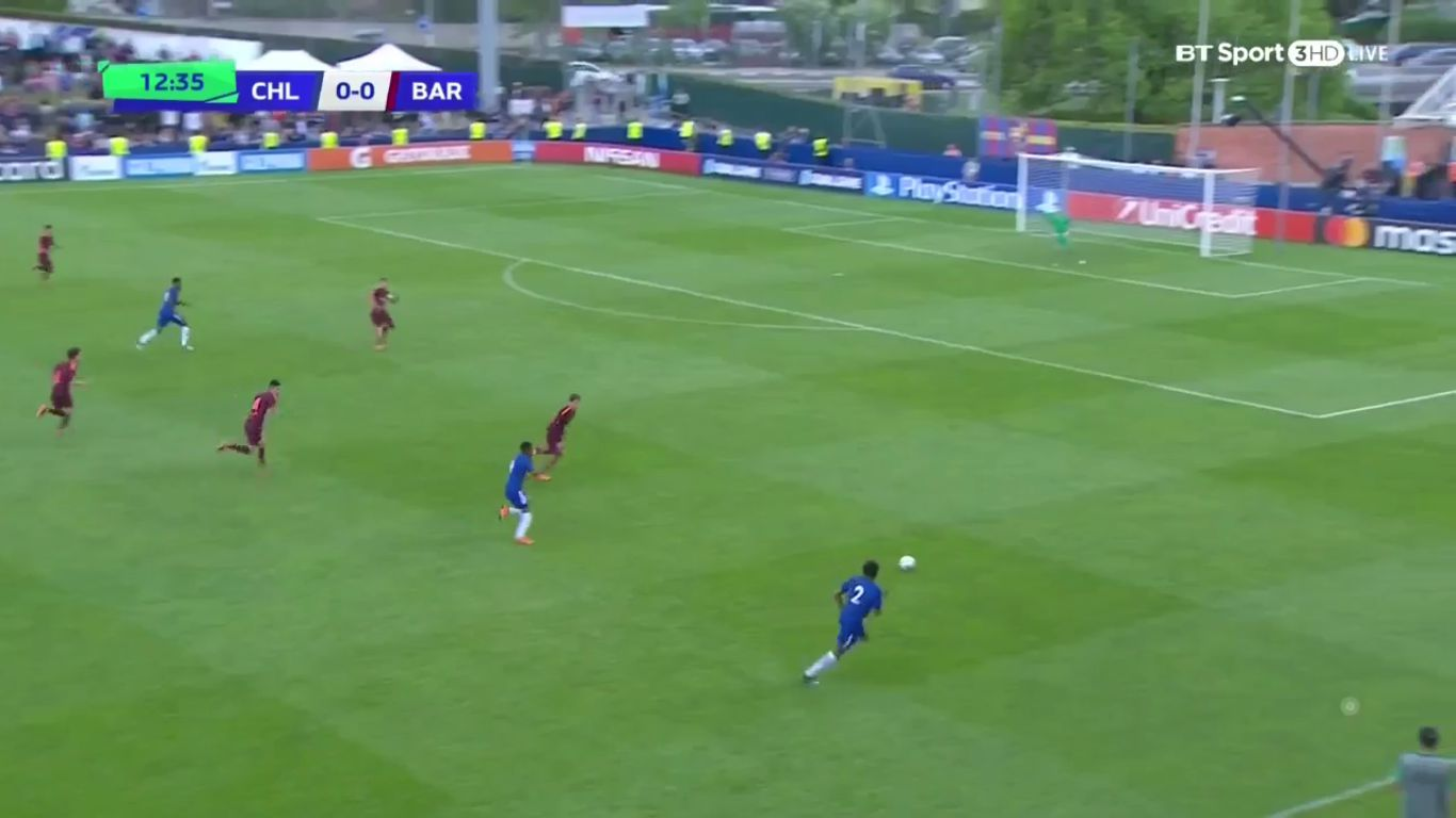 23-04-2018 - Chelsea U19 0-3 Barcelona U19 (UEFA YOUTH LEAGUE - FINAL)