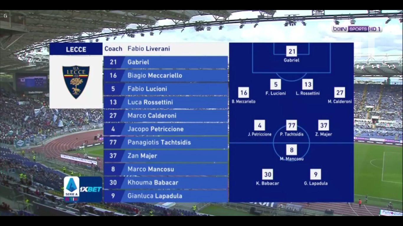 10-11-2019 - Lazio 4-2 Lecce