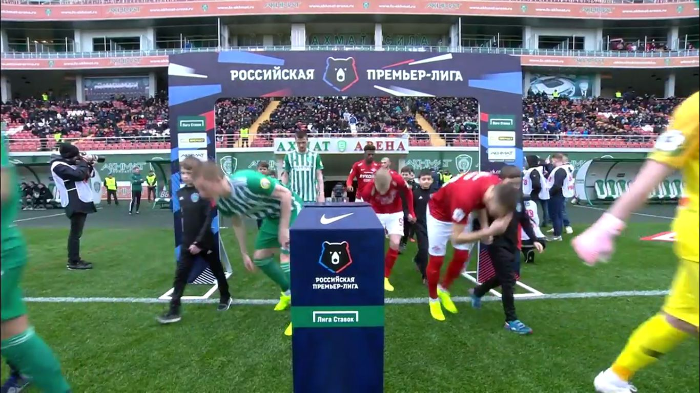 30-03-2019 - Republican FC Akhmat Grozny 1-3 FC Spartak Moscow