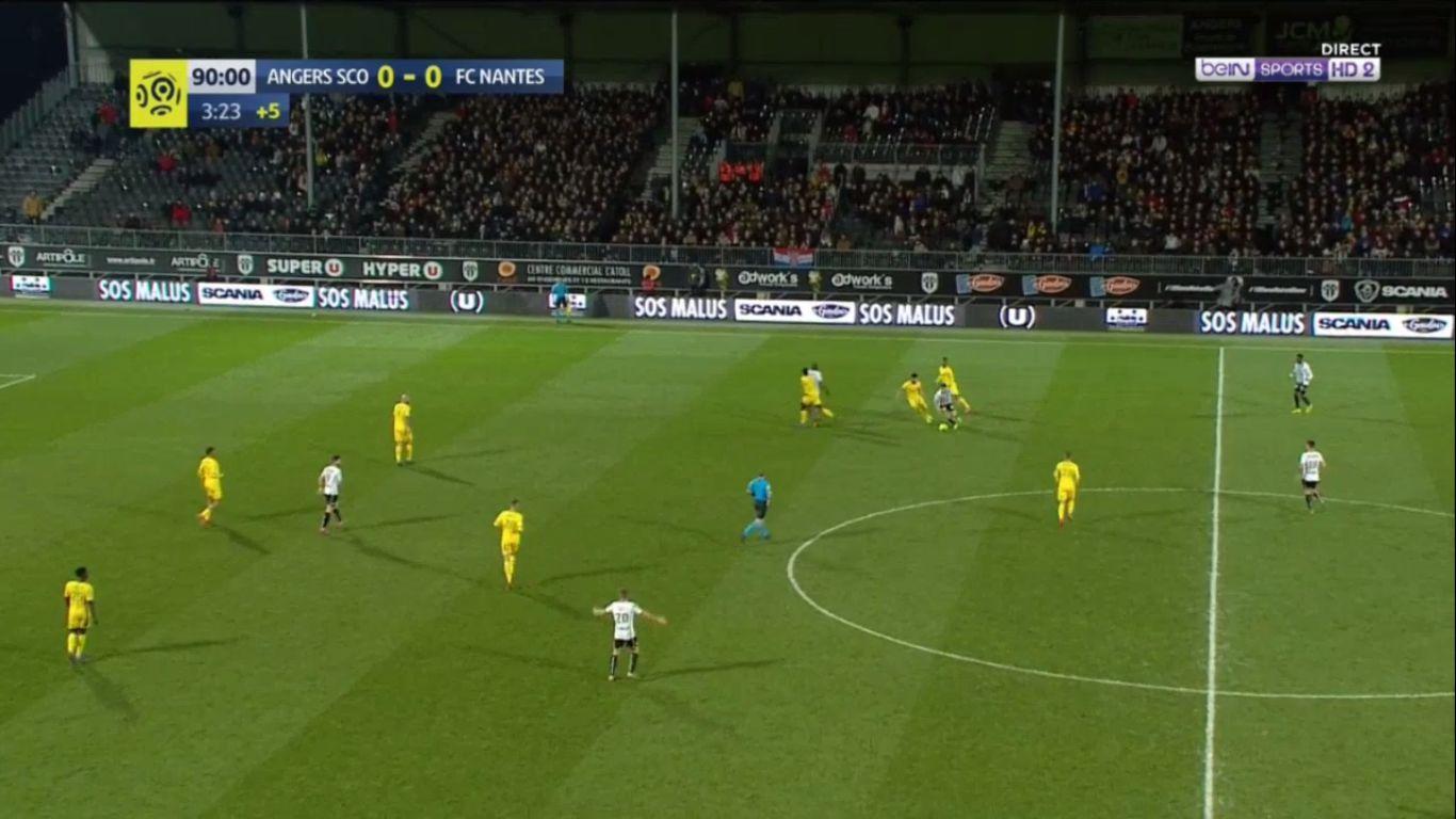 20-01-2019 - Angers 1-0 Nantes