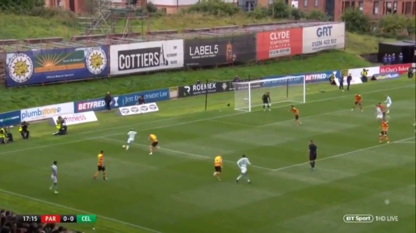 18-08-2018 - Partick Thistle 1-3 Celtic (LEAGUE CUP)