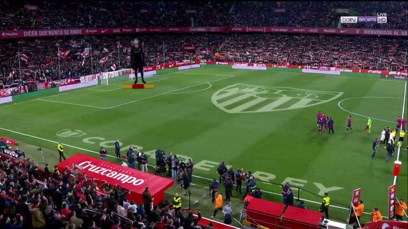 23-01-2019 - Sevilla 2-0 Barcelona (COPA DEL REY)