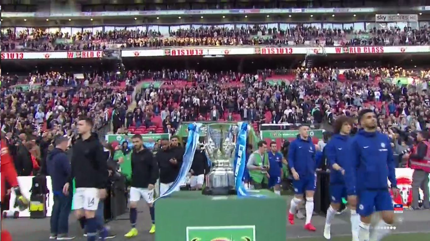 24-02-2019 - Chelsea 0-0 (3-4 PEN.) Manchester City (EFL CUP - FINAL)