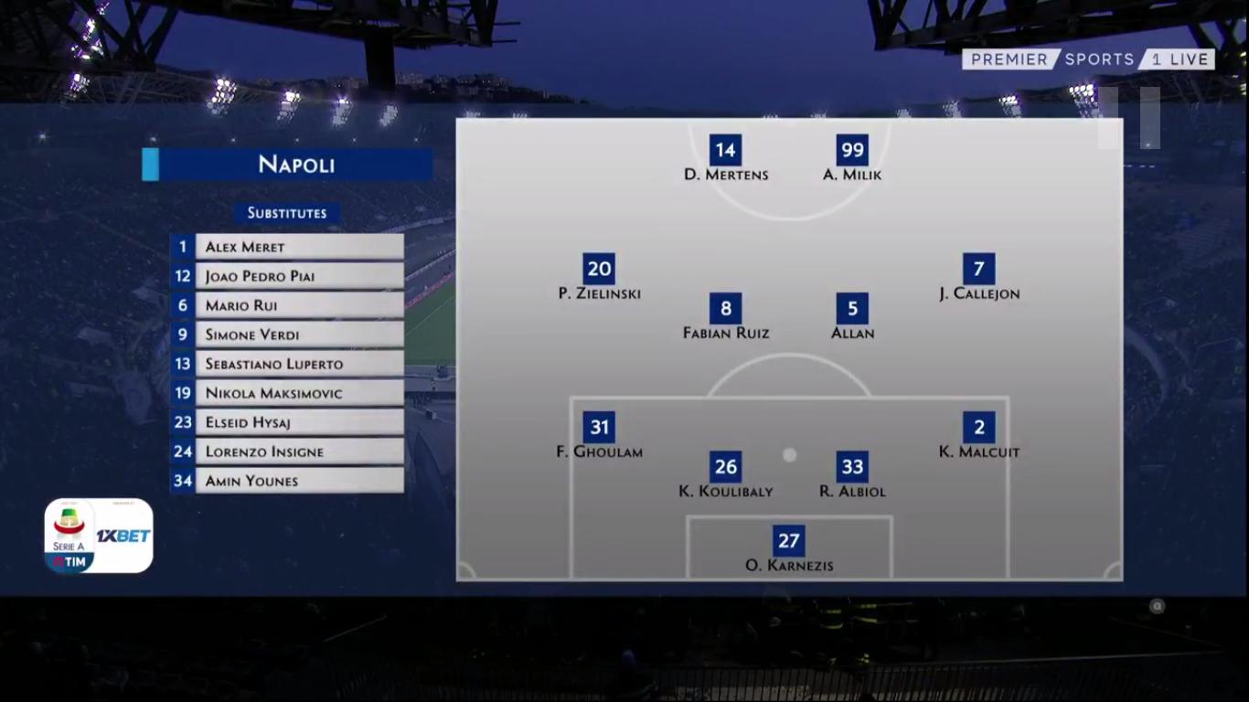 19-05-2019 - Napoli 4-1 Inter