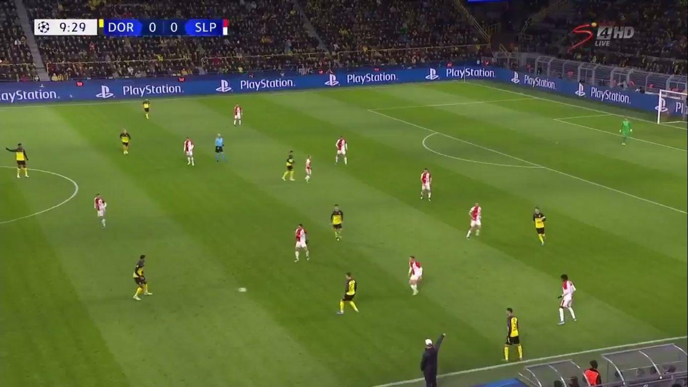 10-12-2019 - Borussia Dortmund 2-1 Slavia Prague (CHAMPIONS LEAGUE)