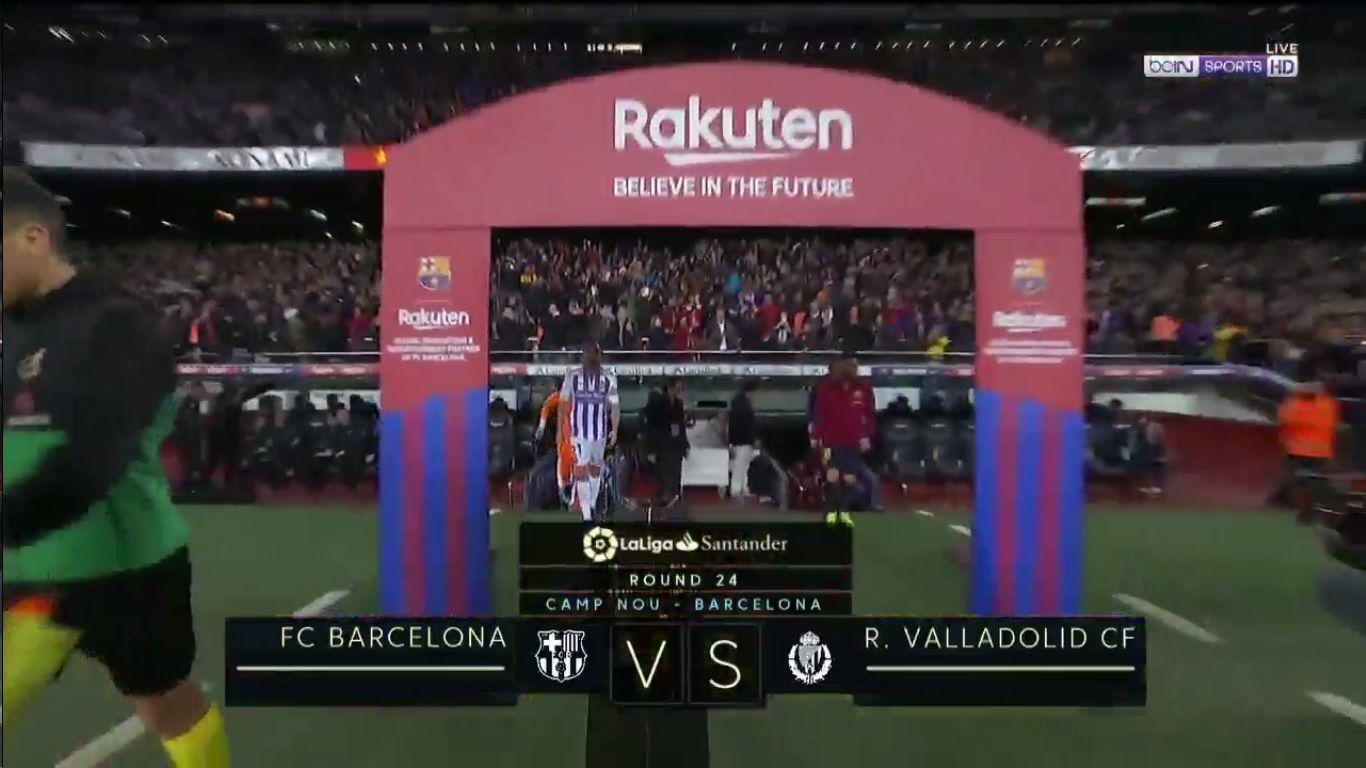 16-02-2019 - Barcelona 1-0 Real Valladolid