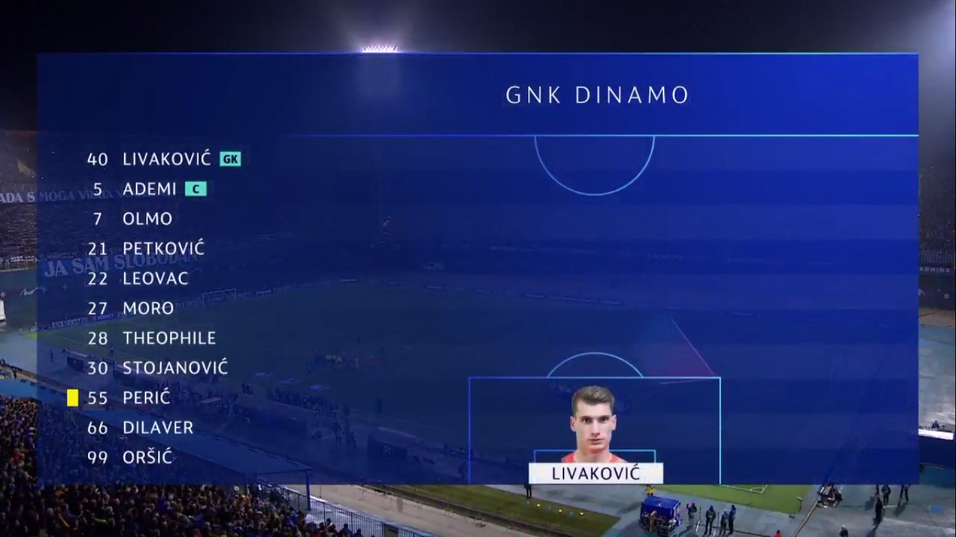 06-11-2019 - Dinamo Zagreb 3-3 Shakhtar Donetsk (CHAMPIONS LEAGUE)