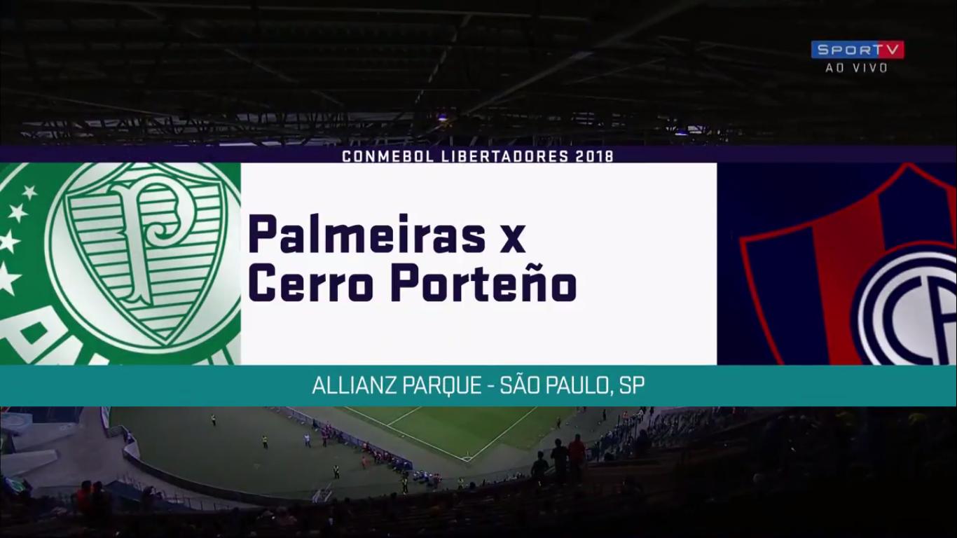 31-08-2018 - Palmeiras 0-1 Cerro Porteno (COPA LIBERTADORES)