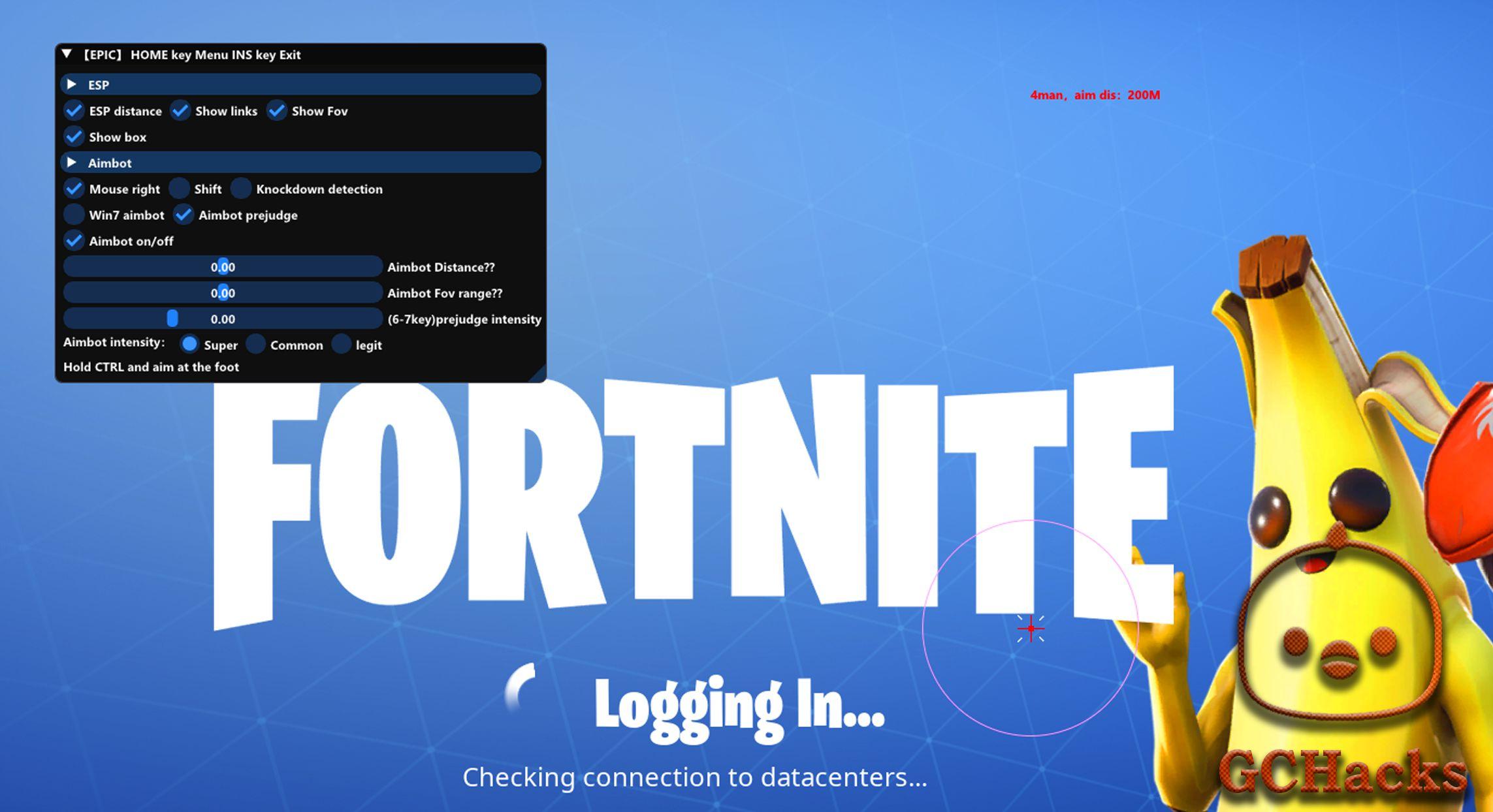 free fortnite aimbot discord