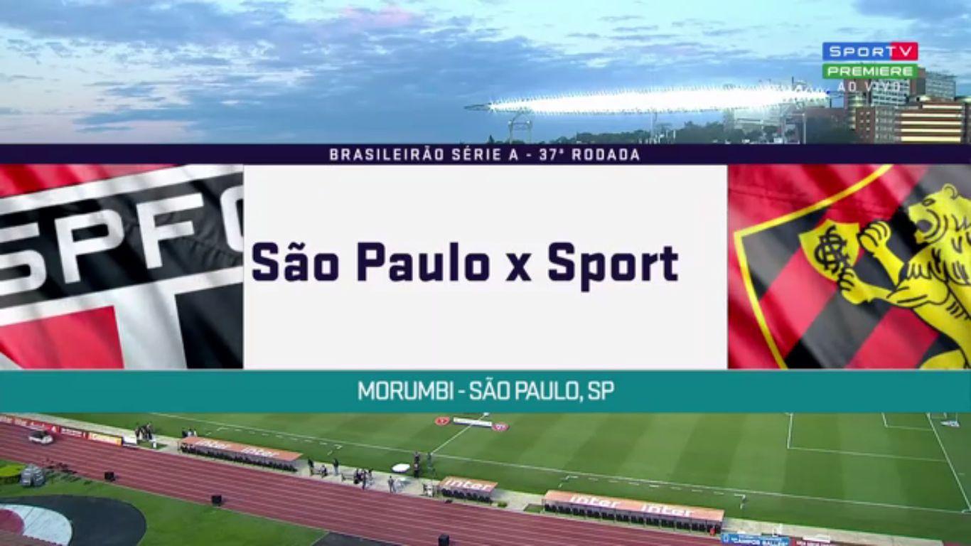 27-11-2018 - Sao Paulo 0-0 Sport Recife